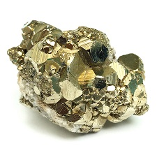 Image 1 is of a Pyrite (AKA Fool's Gold) Nugget. Image 2 is of a real large Gold Nugget.